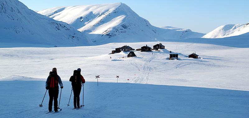 Lapponia Svedese ski trekking