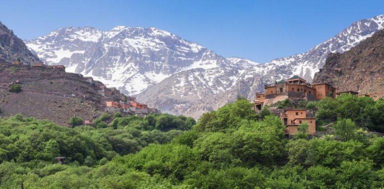 Marrakech e Trekking sul Jebel Toubkal