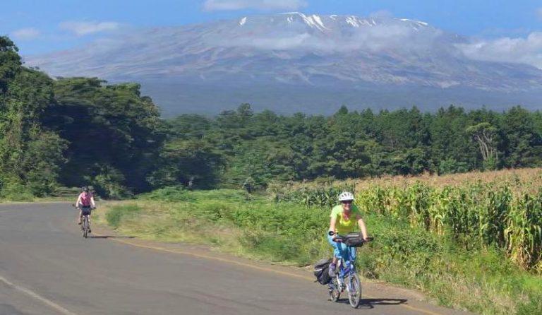 Kibo by bike