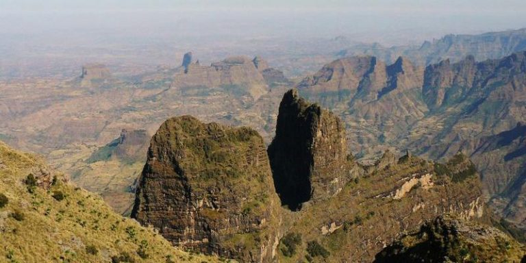 Etiopia trekking