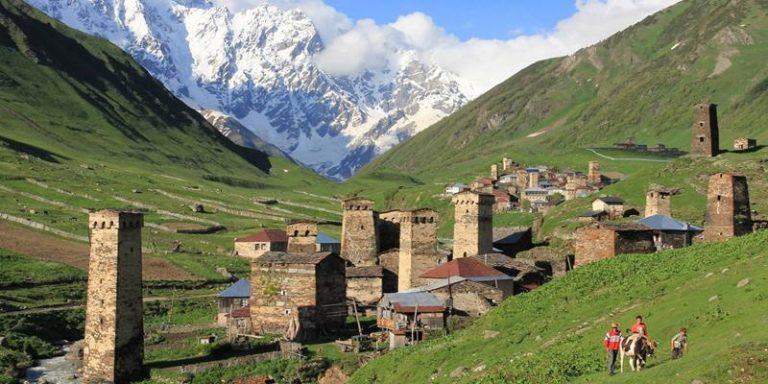 Georgia trekking nello Svaneti