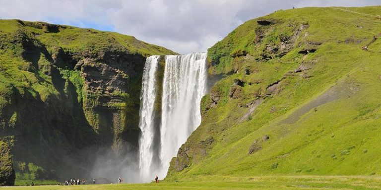 Islanda Skógafoss