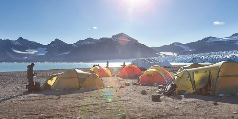 Isole Svalbard trekking con attività