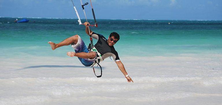 Corso kite surf a Zanzibar