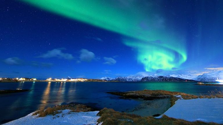 norvegia tromso aurora boreale