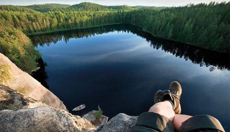 Trekking nella regione di Kainuu in Finlandia